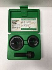 Greenlee 737BB Ball Bearing Knockout Punch Set *Free Shipping*