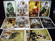 BRAND NEW & SEALED! KUAN YIN CARDS & BOOK ORACLE SET FOR BLESSINGS & GUIDANCE