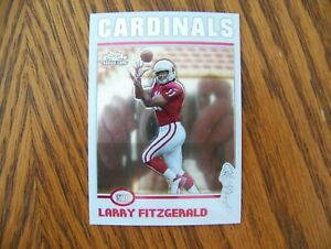 2004 Topps Chrome Larry Fitzgerald rookie card #215 - Cardinals - great card