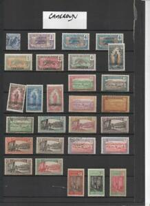 CAMEROUN  COLLECTION ON 9  PAGES