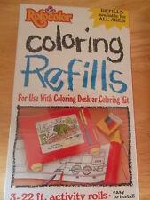 Rolocolor Coloring Desk Refills H Series Factory Sealed 3-22 ft. activity Rolls