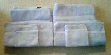 New Fieldcrest Diane Von Furstenberg Lavender set of 6 towels Made in USA