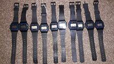 Joblot 10 Casio Men's F91W-1 BLACK Strap Watch RRP £17.50 CHEAP SALE Job Lot