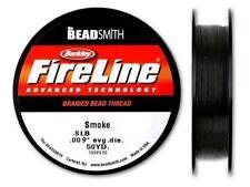 Beadsmith Fireline - Smoke - Beading Thread - 50 Yards -Jewelry Thread(8lb Test)