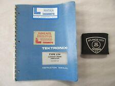 Tektronix Type 134 Current Probe Amplifier 015-0057-02 Instruction Manual