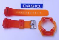 CASIO G-Shock GAX-100MSA-4 G-Lide Jelly Red X-Large BAND & BEZEL Combo GAX-100