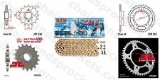 DID Xring Pro Gold Chain Kit 17/44t 530/110 fit Honda CBR1100 XX Blackbird 97-07