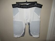 Men's Nike Pro Combat Padded Compression Football Sports Shorts Size Xl Guc