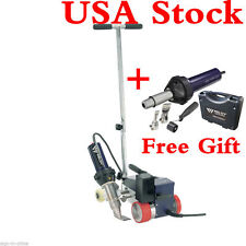 USA Stock!AC220V Weldy RW3400 Roofer Hot Air Welder 40mm Nozzle + GIFT FREE GUN