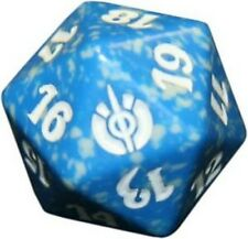 Mirrodin Besieged Blue Spindown Lifecounter Dice d20 Dado Blu MTG MAGIC