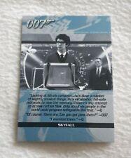 Rittenhouse Archives James Bond Autograph & Relics Quotable QS11
