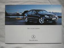 2004 Mercedes C-Class Saloon Brochure Pub No. MKP/K6701001488-00/0304