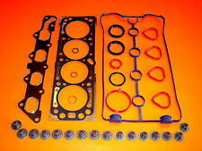 2004-2005 FITS CHEVY AVEO 1.6 1.6L  HEAD GASKET SET + INTAKE AND  EXHAUST VALVES