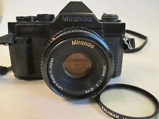 MIRANDA MS-1 35MM Film Camera with 50MM 1:2 Miranda lens.