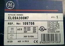 GE Contactor  AC1 140A  / AC3 95A  50Kw  - 3 Pole  - 240 volt Coil  - NEW