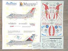 "S-3B VIKING ""2USN/VS-21/38"" AEROMASTER DECALS 1/48"