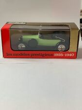 Solido #145 1926 Hispano-Suiza in light green with Black Top 1:43 Scale MIB