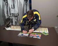 Foto Autografo Calcio Emanuele Giaccherini Chievo Verona Soccer Coa Signed Sport