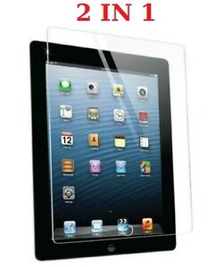 Genuine Tempered Glass Screen Protector For Apple iPad 2nd 3rd & 4th Generation