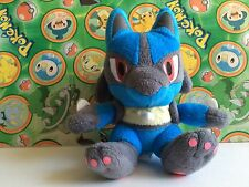 "Pokemon Plush Lucario 7"" UFO 2009 stuffed animal doll figure toy go USA Seller"
