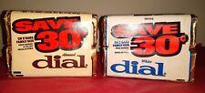 4 Vintag Almond & White Dial Antibacterial Soap Bars.