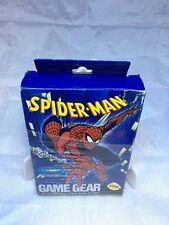 Spider-Man Sega Game Gear, 1992 Complete in Box CIB