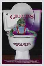 Ghoulies Cartel 01 A2 Caja Lona Impresión