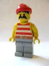 Lego PIRATE Crew Minifigure -Red Bandana -6286 6277 Vintage!