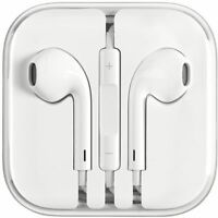 2X Apple Earphones 3.5mm iPhone 5 5s 6 6s EarPods with Remote Mic + 2 Case