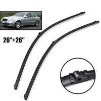 Front Window Windshield Wiper Blade Fit For Mercedes E Class W211 S211 2002-2009