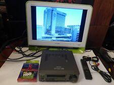 Sony EV-C100 Hi8 Video8 8mm Video Cassette Recorder Player VCR w Accessories