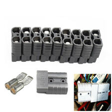 10X Battery Connector Kit 50A 6AWG Plug Connect Disconnect Winch Trailer Amazing