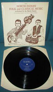 THE BATISH FAMILY North Indian Folk & Classical Music ORIG 1st UK TOPIC 1969
