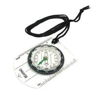 Multifunctional Equipment Outdoor Camping Mini Compass Scale Map Portable