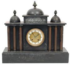 ARCHITECTURAL MANTEL CLOCK. Lot 125