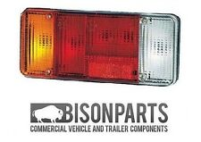 *FIAT DUCATO REAR LAMP LENS ONLY WITH REVERSE & REFLEX REFLECTOR LH BP90-101