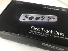 Avid Fast Track Duo audio recording Apple IPad Mac interface USB cable Pro Tools