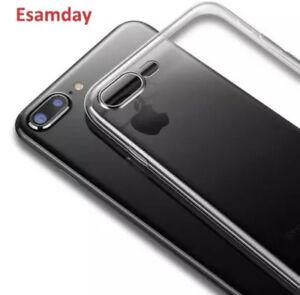 For Iphone 6 6plus 6s plus 7 7 plus iphone XS MAX Tansperent Clear Silcone Case