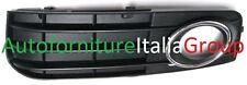 GRIGLIA PARAURTI ANTERIORE SX C/F FENDI NERA C/CROMATA AUDI A4 07>11 2007>2011