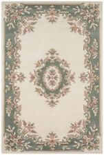 Indian Emperor Floral 100% Wool Handmade Oriental Traditional Aubusson Rug