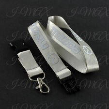 Mazda Lanyard Keychain Quick Release Key Chain MazdaSpeed Miata RX7 RX8 - Silver