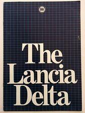 Lancia Delta Car Sales Brochure 1981 Original