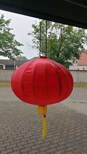 China Lampion Seide Satin Rot 60cm