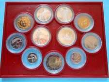 Serie divisionale 1986 FS 11 valori in confezione della Zecca