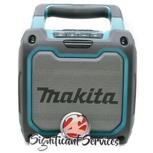 New Makita XRM08 18V 12V LXT Li-Ion Bluetooth Cordless Job Site Radio Speaker