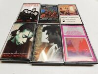 Lot of 6 Cassettes Griffith The Call Isaak Terence Trent Gershwin Turtle Island