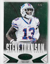 Steve Johnson 2016 Certified Green 1/5 1 1 Buffalo Bills San Diego Chargers SSP!