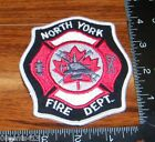 North York Ontario Canada Fire Department Cloth Patch Only