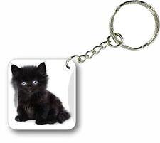 Porte clés clefs keychain voiture moto scooter maison chat cat mignon r2