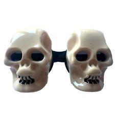 Adults Kids Skull Glasses Head Novelty Glasses Eye Face Mask Halloween Costume